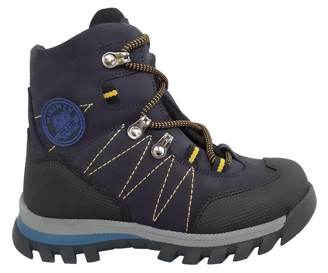 Ботинки Minimen 3SHNURSINIY Синий