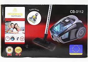 Пылесос циклонный Crownberg CB-0112 2600 Вт с турбо-щеткой