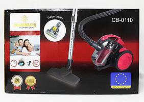 Колбовый пылесос Crownberg CB-0110 2400 Вт + турбощетка