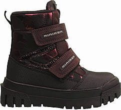 Ботинки Minimen 12NEWBORDO Бордовый