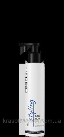 Клей-гель для укладання волосся PROFIStyle Styling екстрасильна фіксація, 150мл