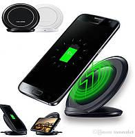 Бездротова зарядка підставка для телефону WIRELESS FAST CHARGE S7