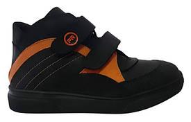 Ботинки Perlina 107ORANGE Черный 37