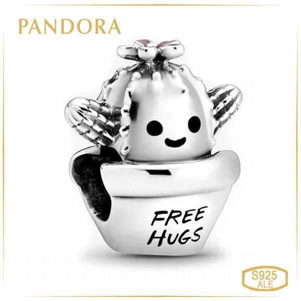 Пандора Шарм Очаровательный кактус Pandora 798786C01