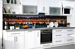 Декор стен коридора, офиса, кафе,бара, ресторана Zatarga «Пряничные домики» 600х3000 мм (в прихожую, фотообои)