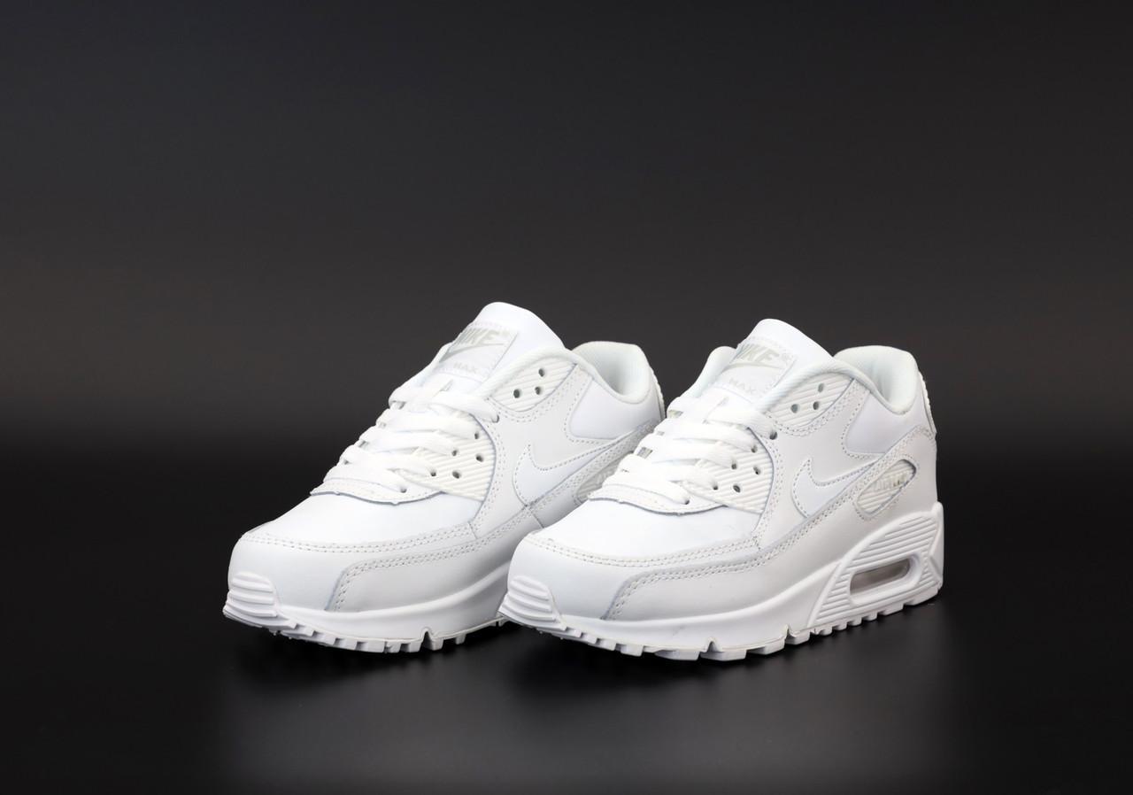 Женские белые Кроссовки Nike Air Max 90