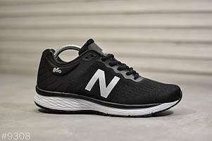 Кроссовки мужские New Balance черные. Стильные мужские кроссовки черного цвета.