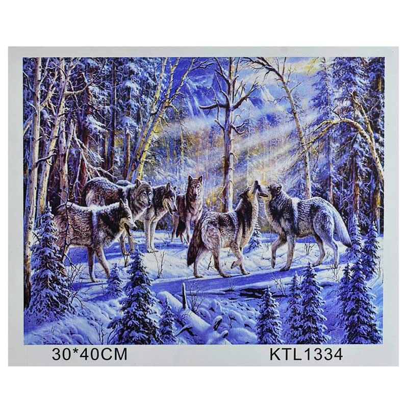 Картина по номерам KTL 1334