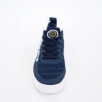Кроссовки мужские Nike Supreme синие. Стильные мужские кроссовки Найк темно-синего цвета., фото 2