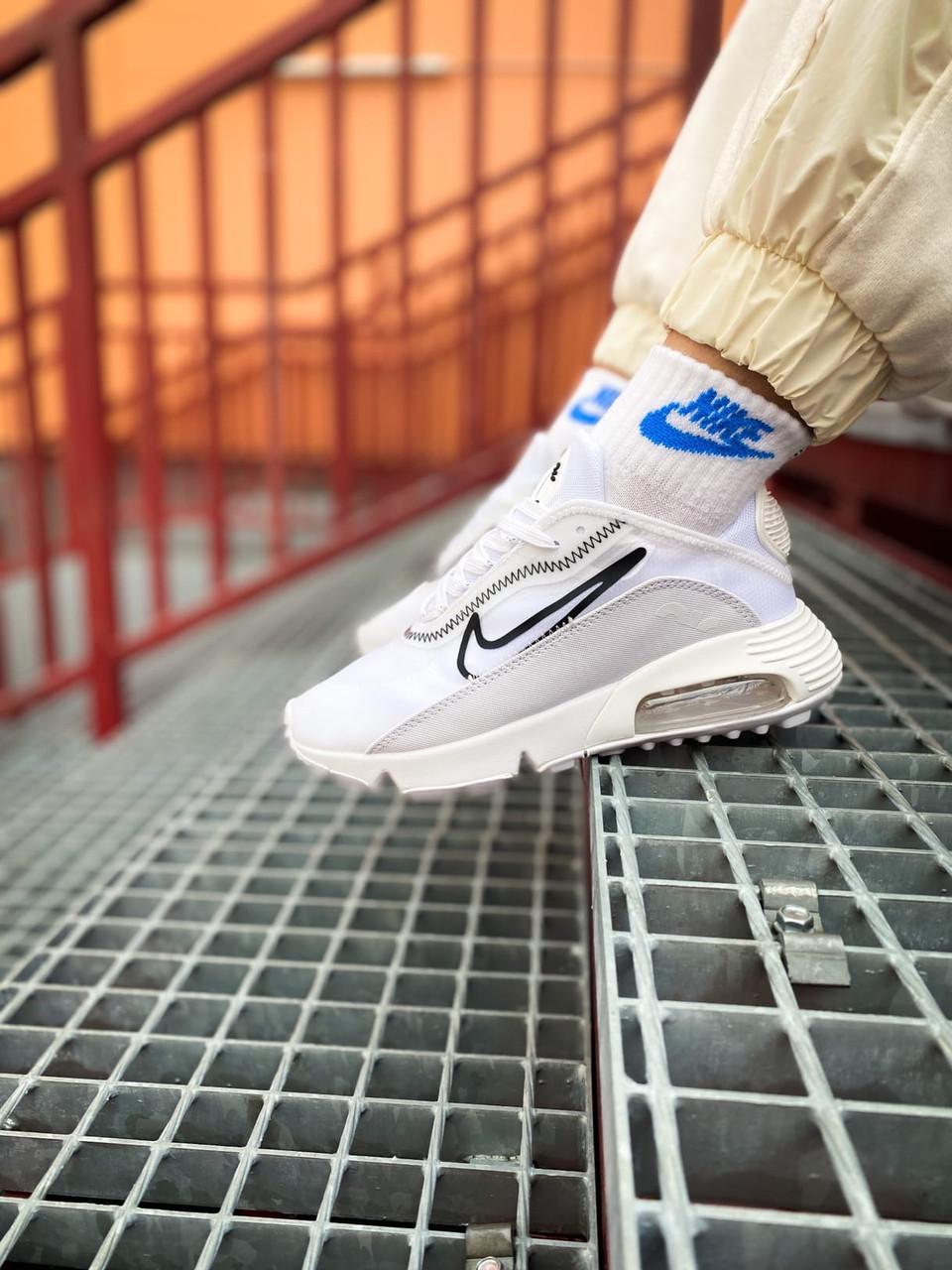 Жіночі білі Кросівки Nike Air Max 2090