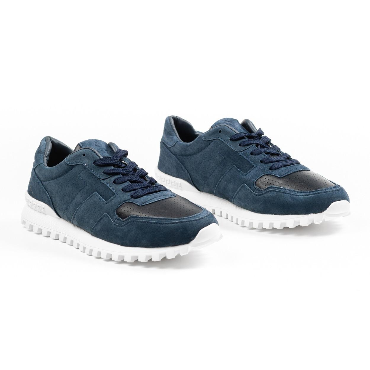 Кроссовки мужские South Classic blueтемно-синие. Стильные мужские кроссовки темно-синего цвета.