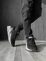 Кроссовки мужские ADIDAS Shark черные. Стильные мужские кроссовки Адидас черного цвета с белой подошвой., фото 2