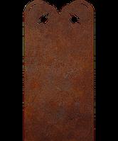 Надгробие из металла Спорт 4 Сталь Сorten 6 мм