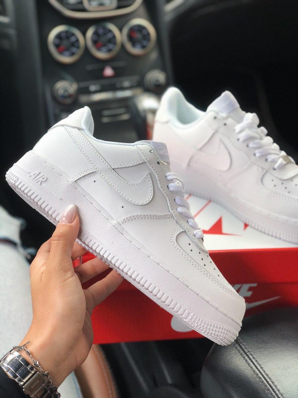 Кроссовки Nike AF1 White