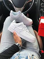 Кроссовки Nike AF1 White, фото 2