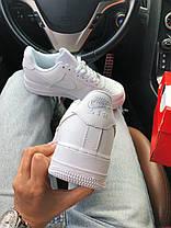 Кроссовки Nike AF1 White, фото 3