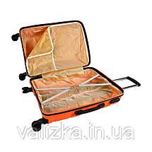 Комплект пластикових валіз з поліпропілену : великий, середній, маленький, фото 3
