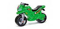 Мотоцикл 2-х колесный зеленый 501