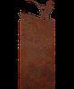 Надгробие из металла 50*103см*8мм. Мемориальная плита, памятник Спорт 07