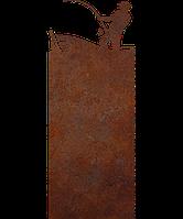 Надгробие из металла 50*103см*8мм. Мемориальная плита, памятник Спорт 07, фото 1