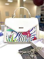 Красива , біла літня сумка від David Jones