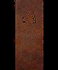 Надгробие из металла 50*103см*8мм. Мемориальная плита, памятник Спорт 08
