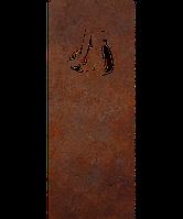 Надгробие из металла 50*103см*8мм. Мемориальная плита, памятник Спорт 08, фото 1