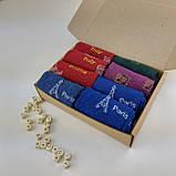 Носки женские с рисунком микс - набор из 8 пар, 36-41 р., фото 3