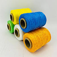2 мм 100 г 200 м Цветная нить для вязания крючком ковриков и мачалок