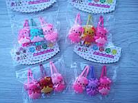 """Дитячі шпильки для волосся """"Кітті"""" 3 шт"""