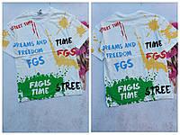 Подростковая футболка FAGIS TIME для мальчика 8-14 лет,цвет уточняйте при заказе, фото 1