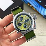AMST 3003 Silver-Green Green Wristband, фото 2