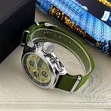 AMST 3003 Silver-Green Green Wristband, фото 4