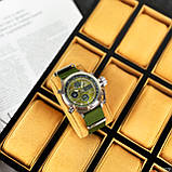 AMST 3003 Silver-Green Green Wristband, фото 7
