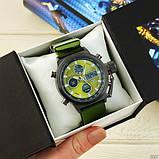 AMST 3003 Black-Green Green Wristband, фото 3