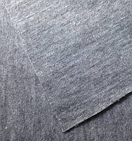 Интерлок меланж (светло-серый) хлопок 100% (кардный)