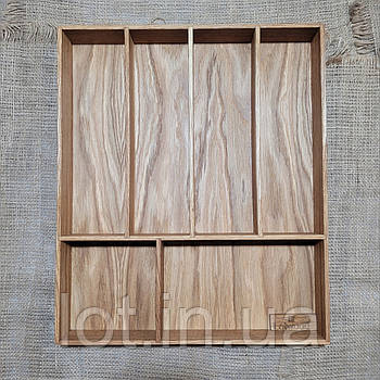 Лоток для столовых приборов от 350мм, Lot 1206. (индивидуальные размеры)