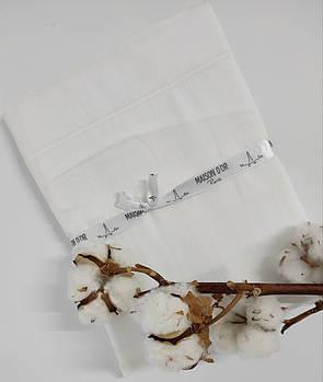Наволочки 50х70 сатин Maison Dor White