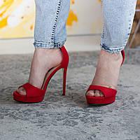 Женские босоножки Fashion Acey 2571 36 размер 23,5 см Красный