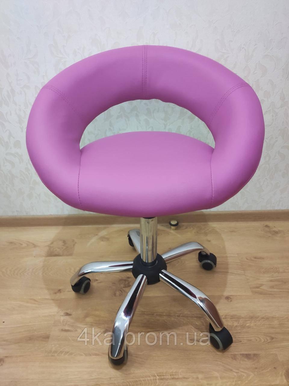 Крісло на колесах HC 104K рожевий