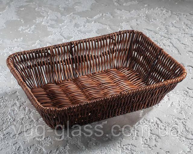 Прямоугольная корзинка для хлеба