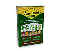Минеральное удобрение Агромакс в саше 12 штук, биоудобрение для универсальное   агромакс добриво (SH)