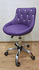 Крісло на колесах HC 931K фіолетовий