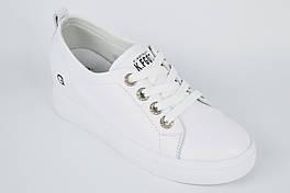 Кросівки Berkonty 900513 39 Білі шкіра