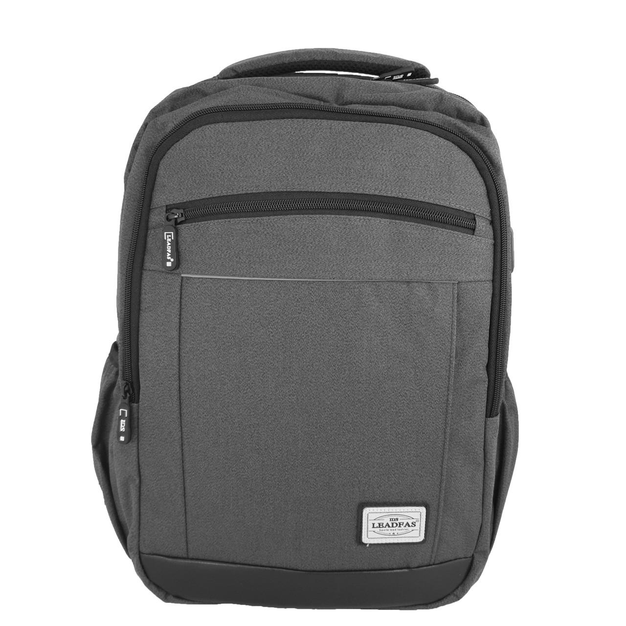 Городской рюкзак для ноутбука с USB Leadfas