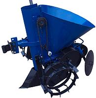 Картофелесажалка ДТЗ КСМ-1Г (синяя)