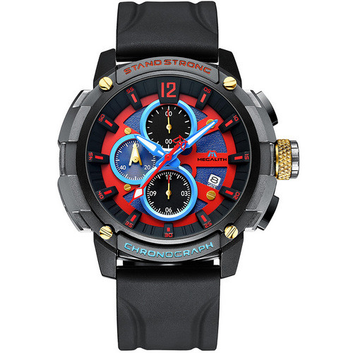 Megalith 8231M Black-Gray-Red-Blue
