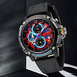 Megalith 8231M Black-Gray-Red-Blue, фото 2