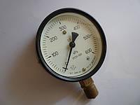 Манометр МТП-100  0-600 КРа (0-6кг)