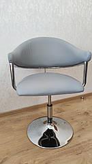 Крісло перукарське НС 8056N сірий